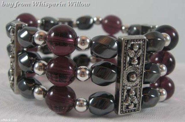 Magnetic hematite and amethyst 1