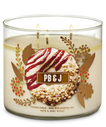 Bath & Body Works PB & J Three Wick 14.5 Ounces Scented Candle - $23.71