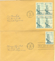Verrazano Narrows Bridge First Day Cover November 21, 1964 - $2.00