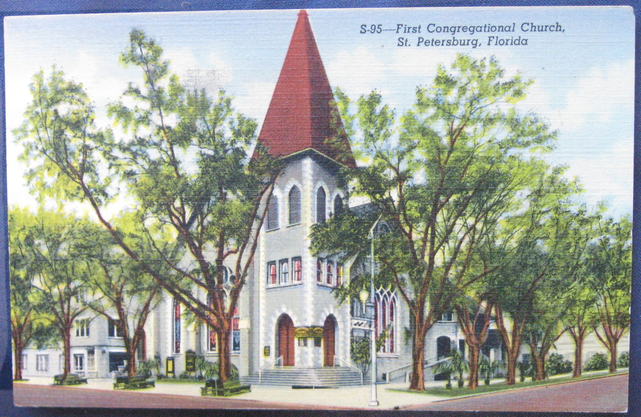 First congregational church  st pete  fl 1 1