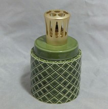 Lampe Berger Longchamp France Green Ceramic Catalytic Lamp - $19.80
