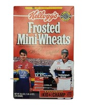 Jeff Gordon and Dale Earnhardt Kellogg's Frosted Mini-Wheats Cereal Box ... - $19.34