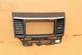 08-10 Mitsubishi Lancer Center Dash Navi Radio Screen Bezel Trim - ROCKFORD image 1