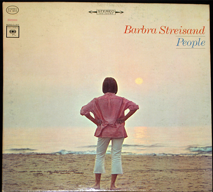 Barbra streisand  people cover