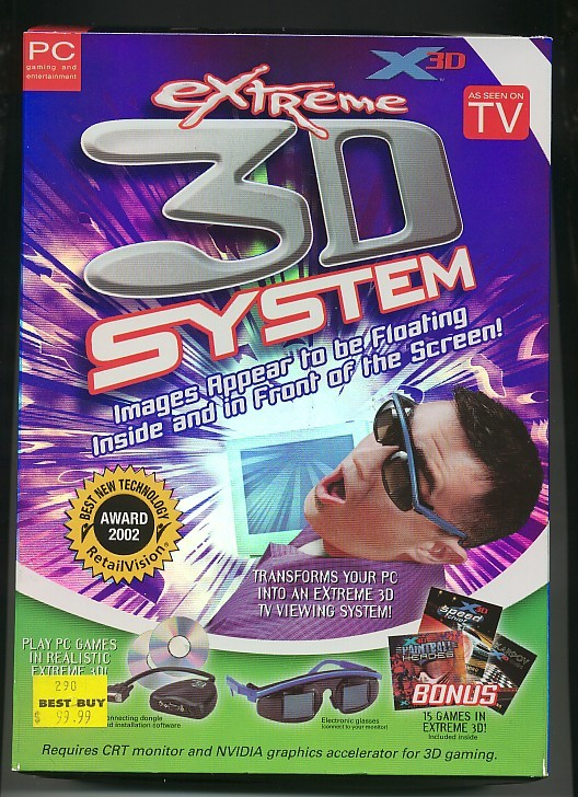 Extreme 3D System   AWESOME!  Virtual Reality! 15 Games AND
