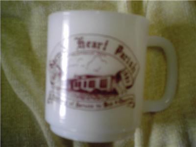 1882-1982 Hocking Glasbake Advertising Mug Catholic Tex