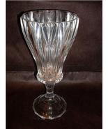 Lead Crystal Hurricane Candle Holder Large 12 i... - $16.99