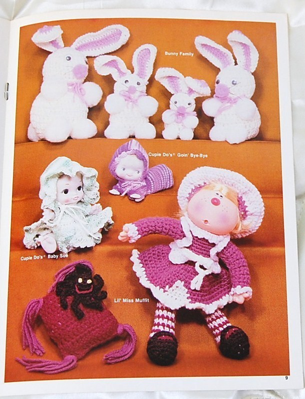 Adventures in Crochet Vintage  Patterns for Dolls