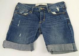 Abercrombie & Fitch Women's Destroyed Denim Jeans 28 Waist Cut Off Jeans... - $14.40