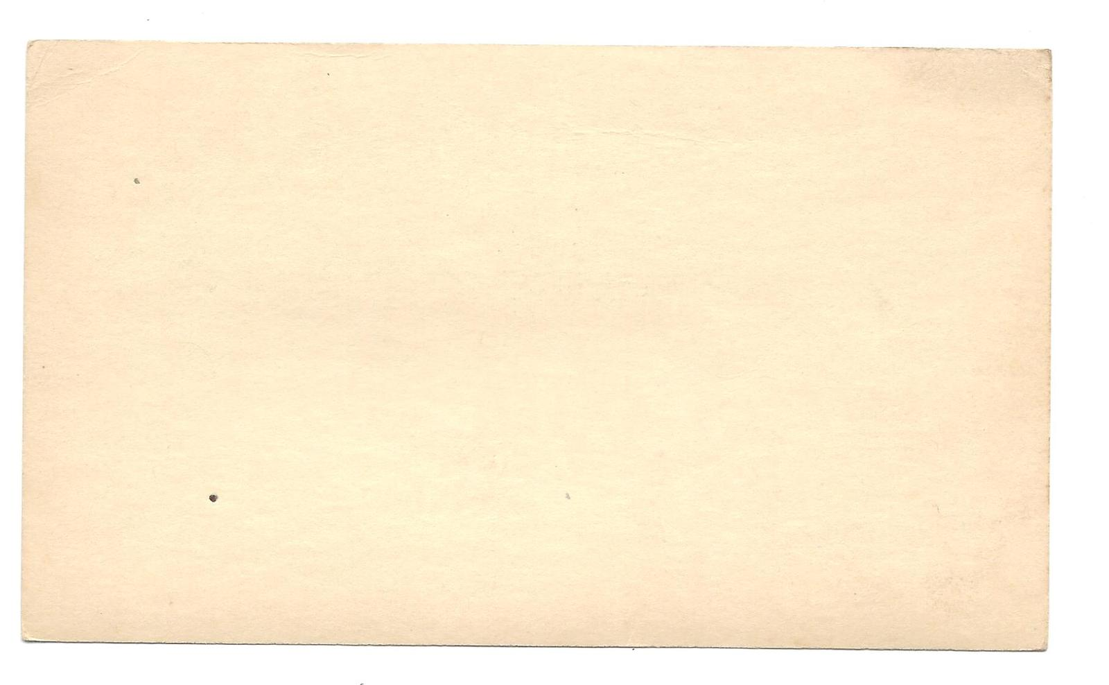Naval Cancel USS Orleck DD 886 CIPEX Poster Stamp 1947 Tied to UX27 Postal Card