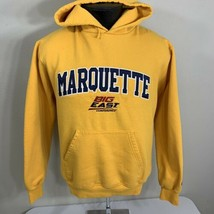 Champion Hoodie Sweatshirt Marquette Golden Eagles Big East Men's Medium - $29.99