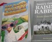 Raising Rabbits Dairy Goats Range Poultry 3 farm books DIY