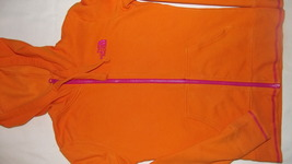 The North Face orange and fuchsia xsmall woman's/juniors hoodie - $13.00