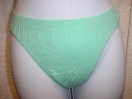 Jockey Seamfree Panty (Cotton/Nylon) L Grn Sz 5/Sm or 8/XL SP Lot of 2 NWOT - $13.99