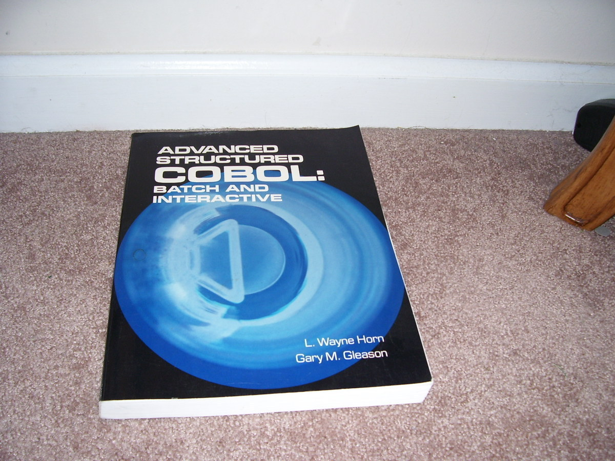 Advanced Structured Cobol Batch and Interactive Book 1985