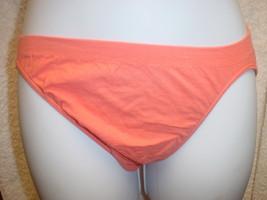 Jockey Seamfree Panty (Cotton/Nylon) Orng Sz 5/Sm SP-Slightly Imperfect ... - $15.99