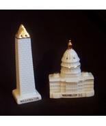 Washington Collectible Souvenir Porcelain Shaker Set JAPAN - $19.00