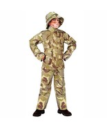 Totally Ghoul Desert Camo Military Child Costume M - $23.74