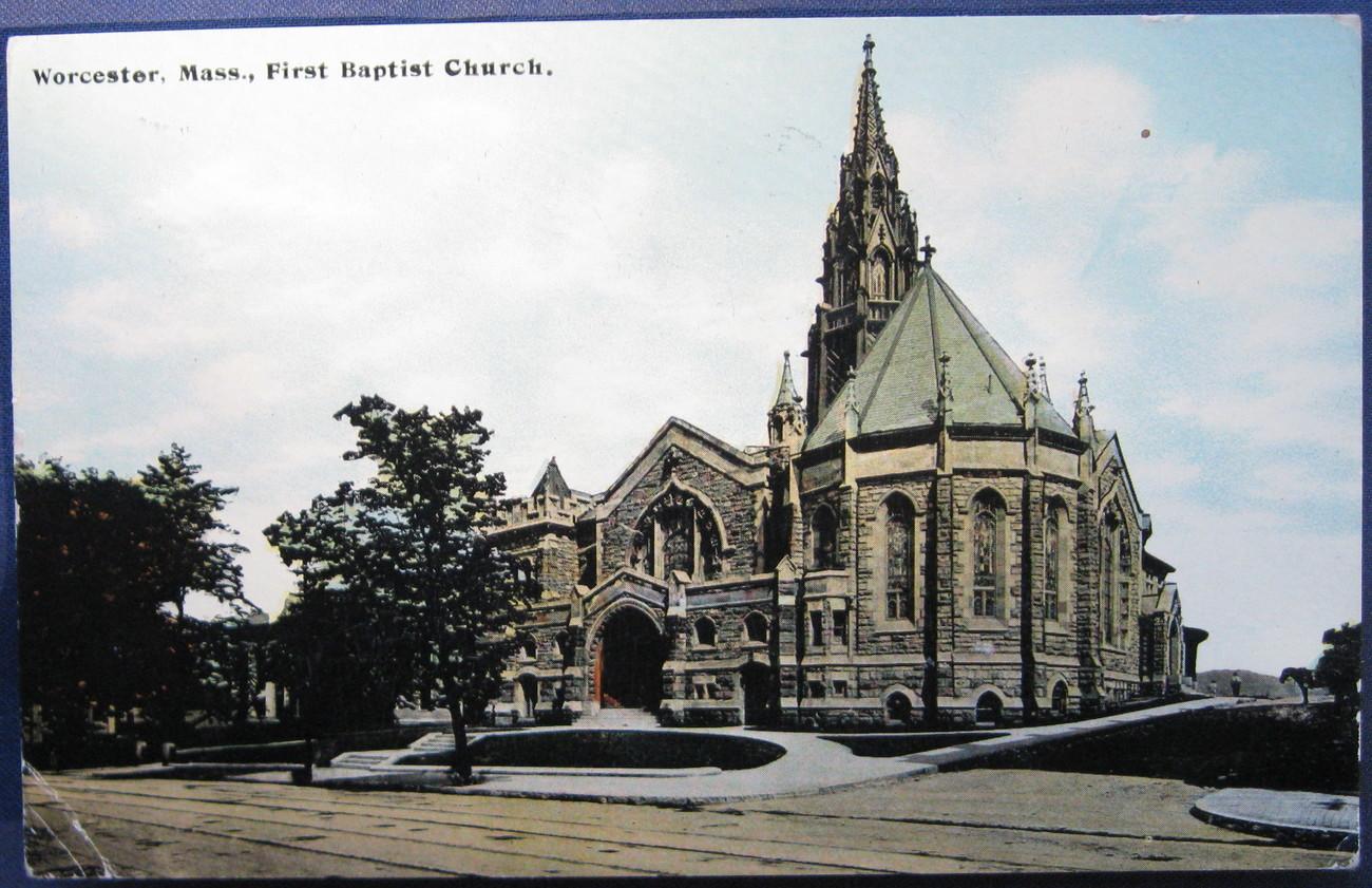 First baptist church  worcester 1 1
