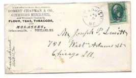 c1875 Standish ME Vintage Postal Cover - $9.95