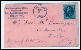 1880 Scotland Ct Vintage Postal Cover - $9.95