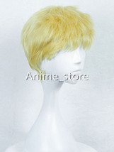 Boruto Uzumaki Naruto Seventh Hokage Cosplay Wig Brush Cut Style Hallowe... - $38.99