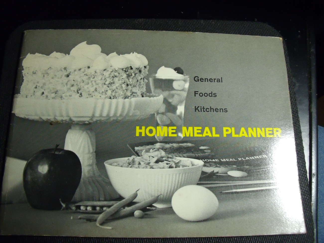 General Foods Home Meal Planner from 1961