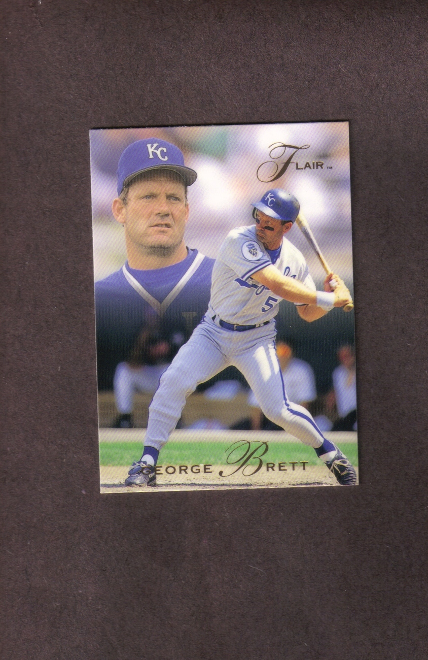 1993 Flair # 213 George Brett Kansas City Royals