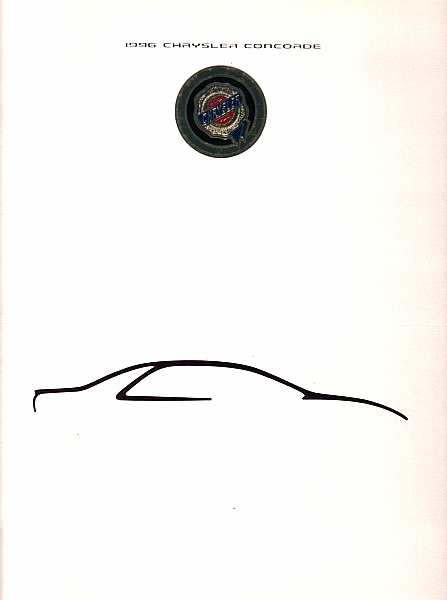 1996 Chrysler CONCORDE sales brochure catalog 96 LX LXi