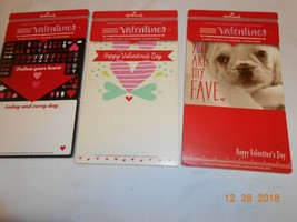 New lot 3 Hallmark assorted Valentines books 8 cards each Sign Seal Send... - $8.90