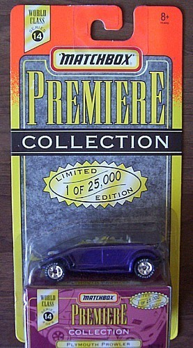 MATCHBOX Premiere Collection 1997 PLYMOUTH PROWLER NIB