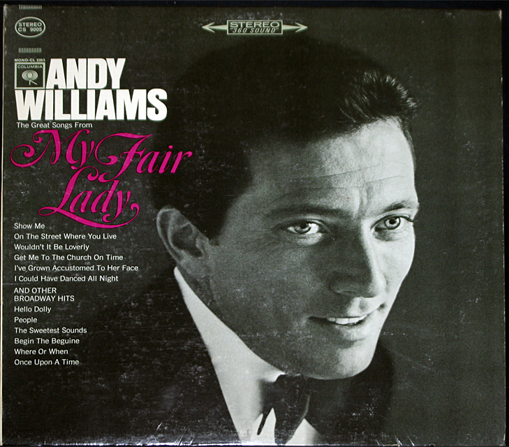 Andy williams  my fair lady  cover