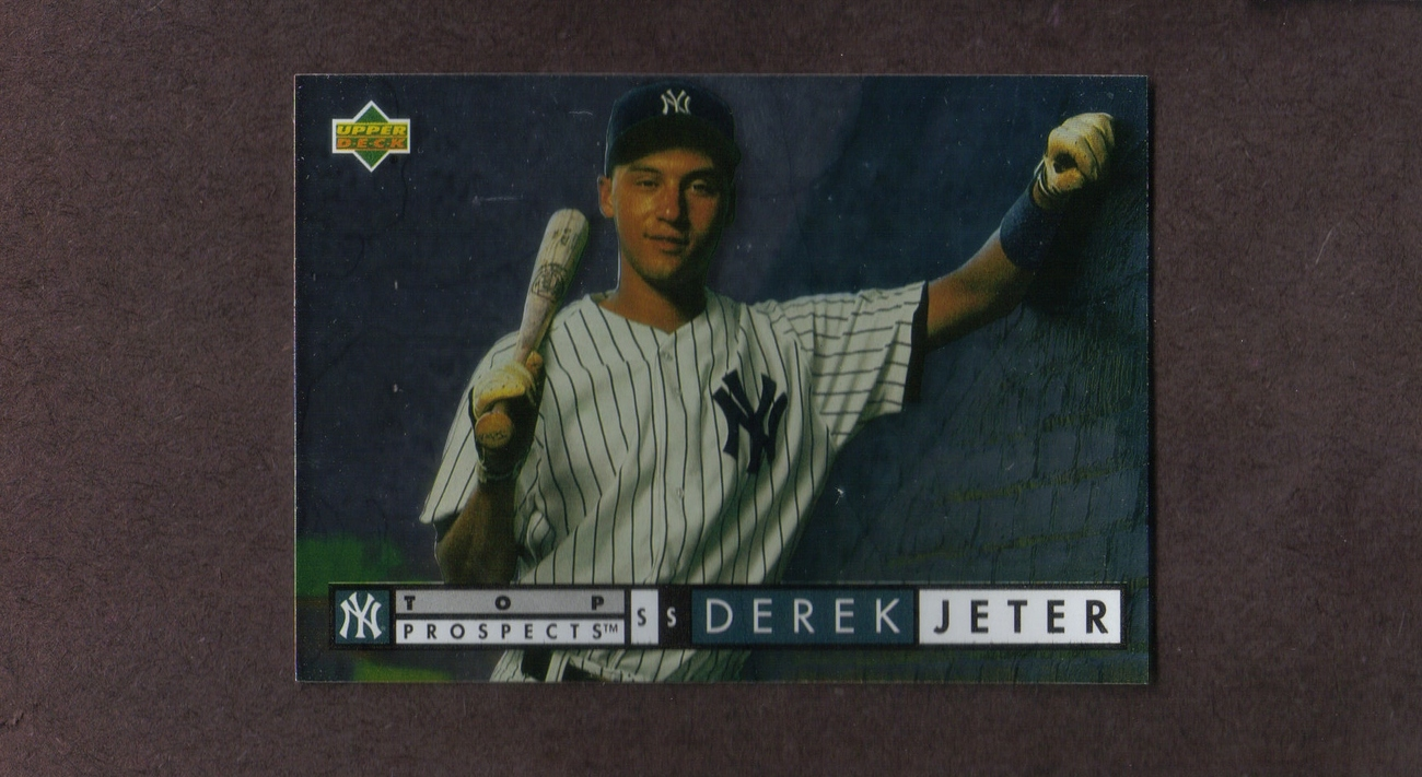 1994 Upper Deck # 550 Derek Jeter New York Yankees