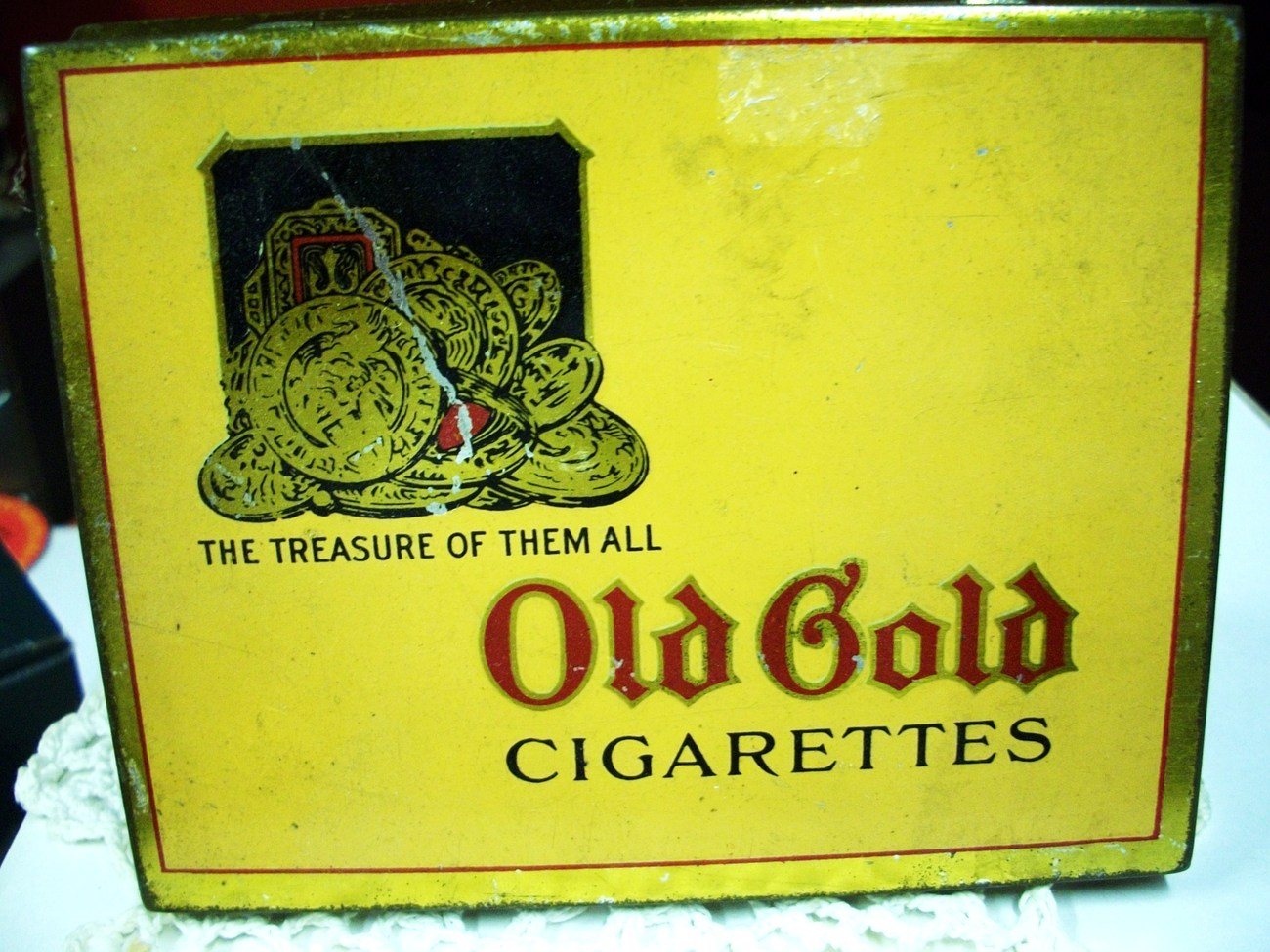 Old gold cigarettes coupons
