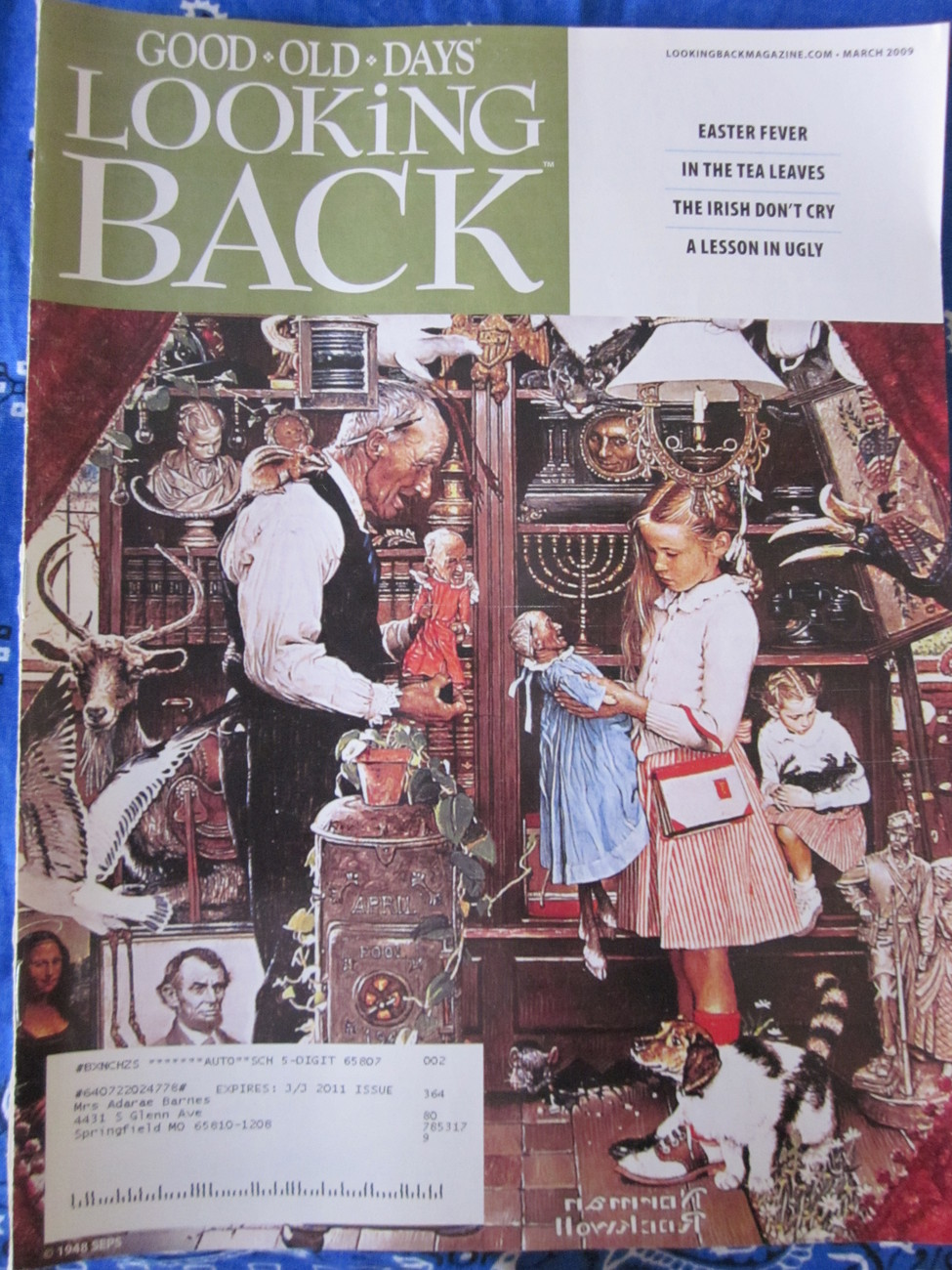 Looking Back Magazine Back Issue March 2009