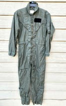 1974 Us Air Force Usaf Nomex Fire Resistant Flight Suit Green CWU-27/P - 36R - $49.50
