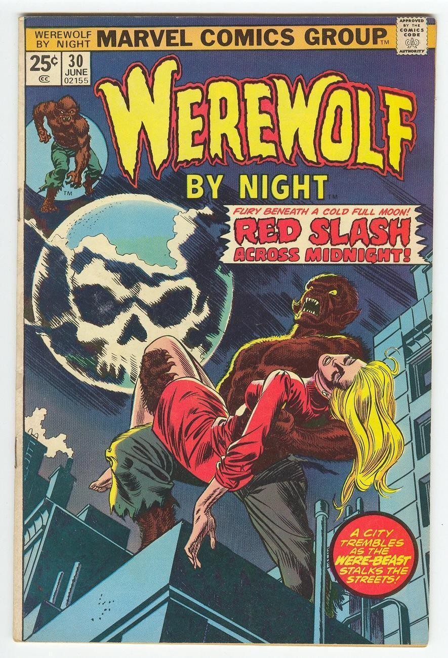 Comic werewolf 30.0 jun 1975