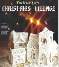 Christmas Crochet Mag~Village~Ornaments~Doilies+ - $19.99