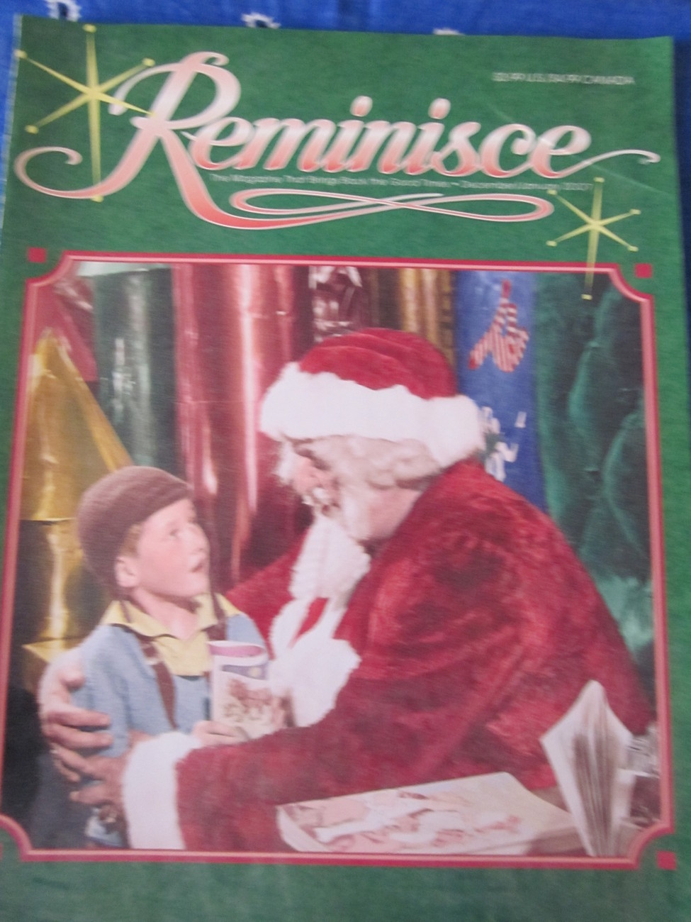 Reminisce Extra Magazine Back Issue Dec 2007