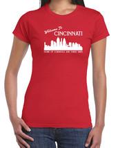 302 Cornhole 3 ways womens t-shirt Cincinnati funny ohio cincy nati vint... - $15.00