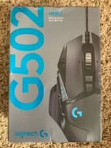 Logitech G502 HERO Wired Optical Gaming Mouse with RGB Lighting - Black NEW - $58.00