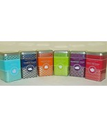 Browne & Ashley GOURMET FLAVORED GREEN TEA; tea bags  in DECOATOR TIN - $2.99