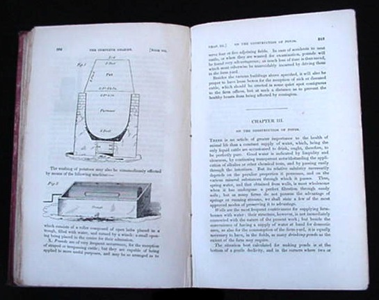 The Complete Grazier 6th Ed. Sheep Cattle Breeder Book 1833