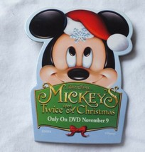 Mickey's Twice Upon A Christmas Pin DVD Release Announcement Collectible - $15.03
