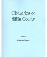 Obituaries of Mifflin County Volume I - $13.50