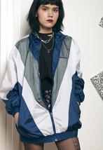 Shell jacket - 90s vintage track jacket - $40.19