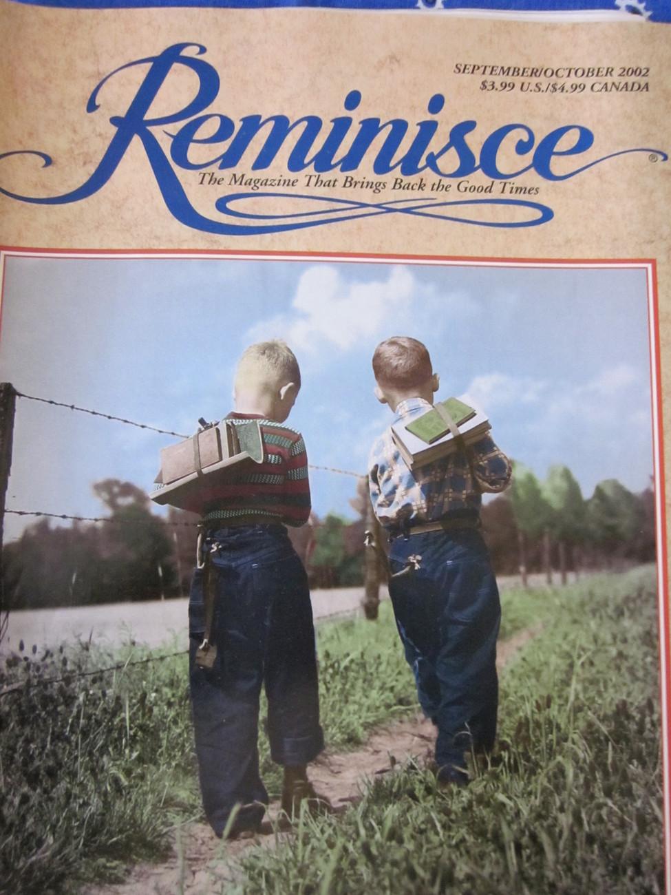 Reminisce Magazine Back Issue September / October 2002