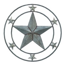 Wall Decoration, Modern Metal Galvanized Star Home Decorative Wall - €33,83 EUR