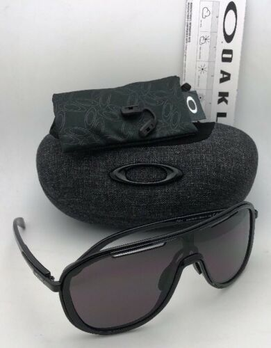 New OAKLEY Sunglasses OUTPACE OO4133-01 Black Ink-Black Frame w/ Warm Grey Lens image 3