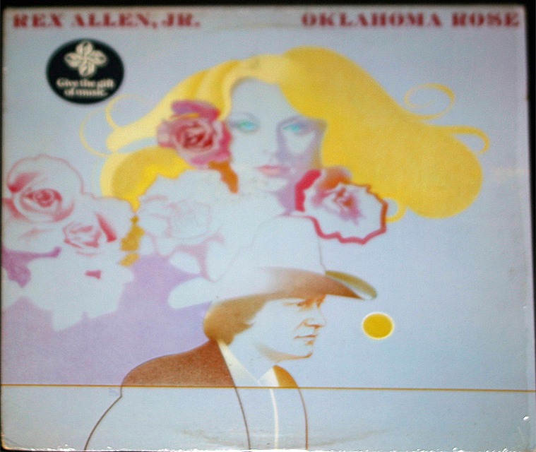Rex allen jr  oklahoma rose cover